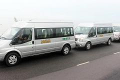 Xe Ford Transit 16 chỗ cao cấp mà MGM đang vận hành